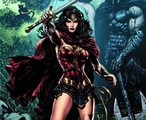 Wonder Woman Sin regreso a casa. Año uno.