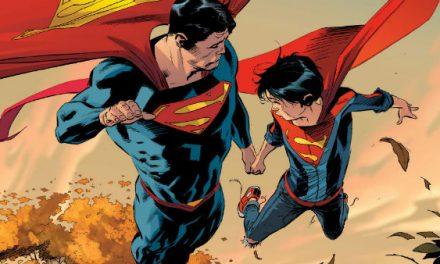 Las aventuras de Superman en la isla de los dinosaurios