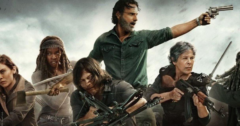 "La foto promocional de la novena temporada de ""The Walking Dead"""