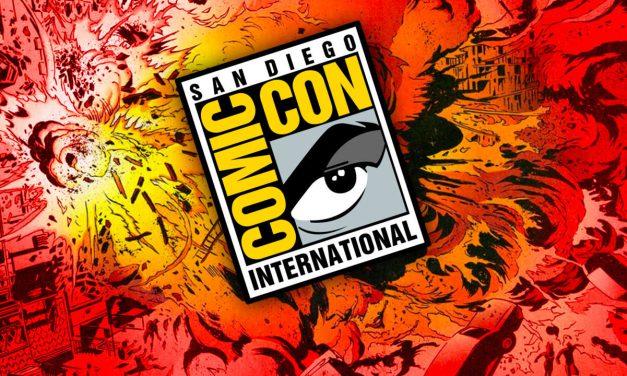 Los paneles de televisión en la Comic Con 2018