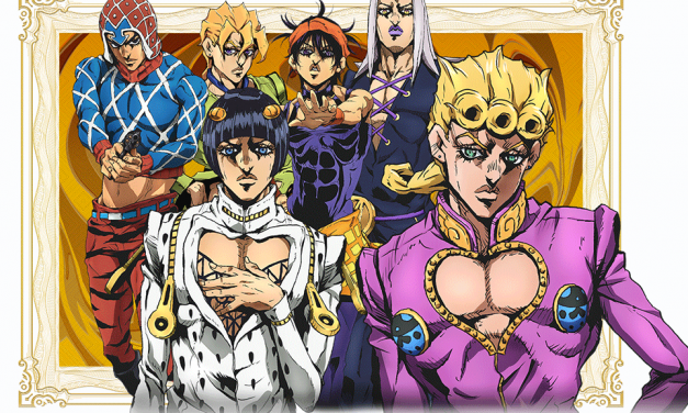 La quinta temporada de JoJo's: Jojo's Bizzare Adventure: Golden Wind