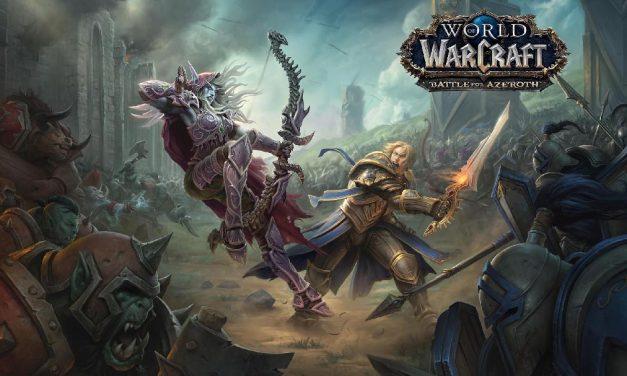 ¡Se acerca Azeroth! Pre-parche de la nueva expansión de WoW llegará el próximo martes