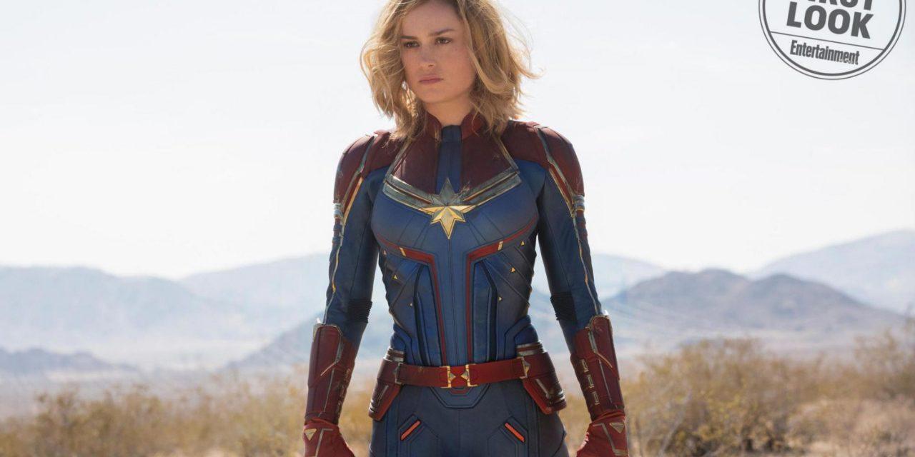 Capitana Marvel: Entertainment Weekly revela primeras imágenes