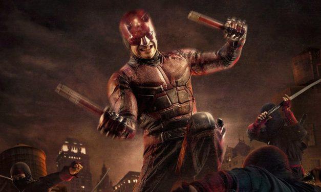 El póster de la tercera temporada de Daredevil